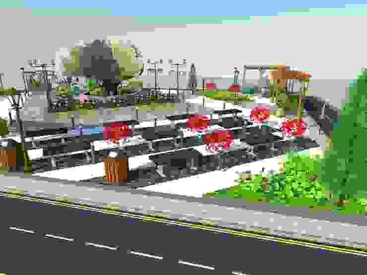 Park Bahçe Tasarım Projesi Klasik Bahçe DETAY MİMARLIK MÜHENDİSLİK İÇ MİMARLIK İNŞAAT TAAH. SAN. ve TİC. LTD. ŞTİ. Klasik