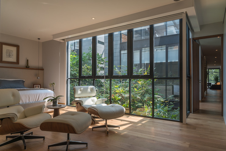 PH Andersen Dormitorios modernos de Faci Leboreiro Arquitectura Moderno