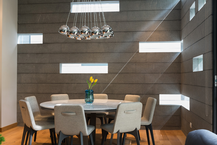 Modern dining room by Faci Leboreiro Arquitectura Modern