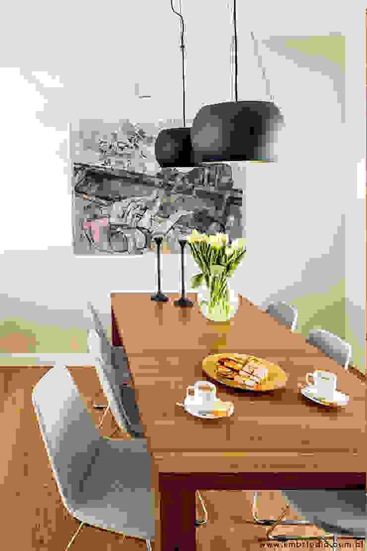 Modern Dining Room by kmb studio Modern