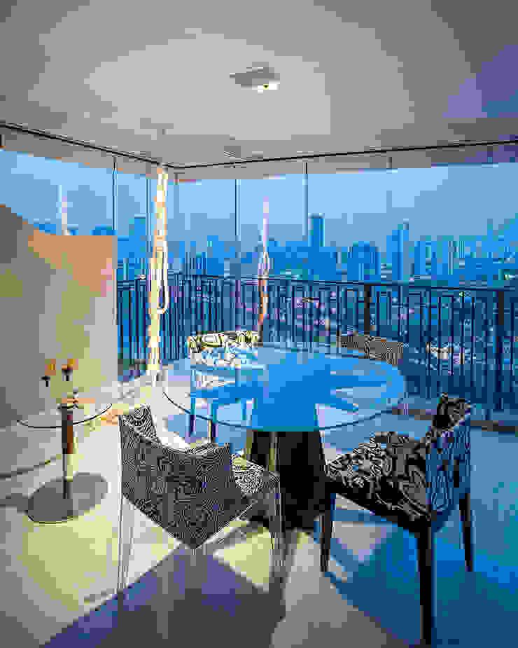terraço Varandas, alpendres e terraços modernos por korman arquitetos Moderno