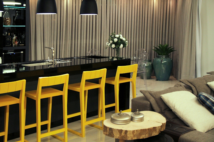 Kubbo Arquitetos Modern style kitchen