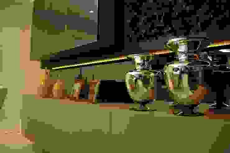 Projeto de Interior Área Social Apartamento Salas de jantar modernas por Kubbo Arquitetos Moderno