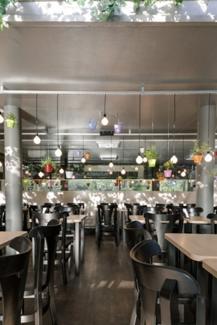 FRU | Restaurante Frutaria do Parque Espaços gastronômicos modernos por Kali Arquitetura Moderno