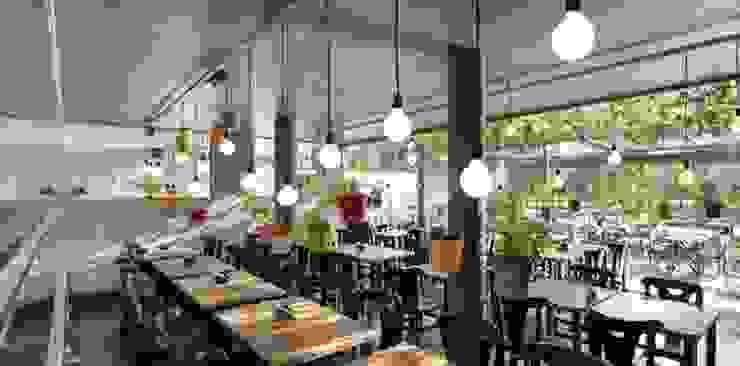 FRU | Restaurante Frutaria do Parque Espaços comerciais modernos por Kali Arquitetura Moderno