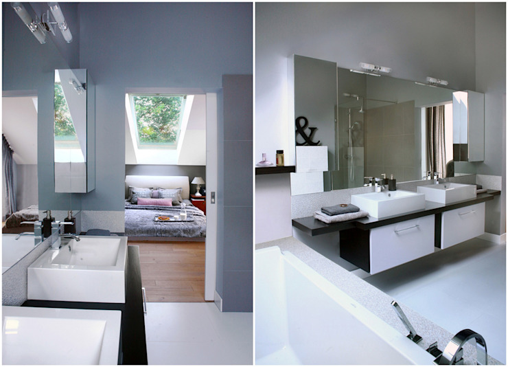 Minimalist style bathroom by MAKAO home Minimalist