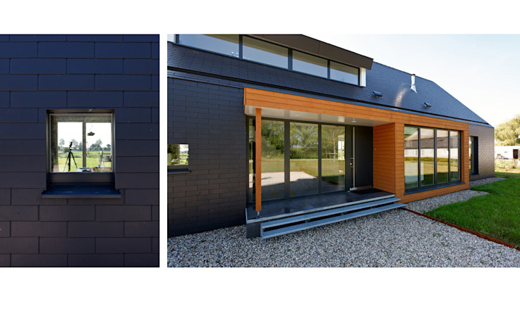 Passiefhuis R te Oijen Moderne huizen van Ariens cs, Architecten & Ingenieurs Modern