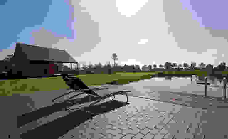 Passiefhuis R te Oijen Moderne tuinen van Ariens cs, Architecten & Ingenieurs Modern