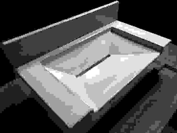 Bespoke Concrete Ramp Sink : minimalist  by Forma Studios , Minimalist