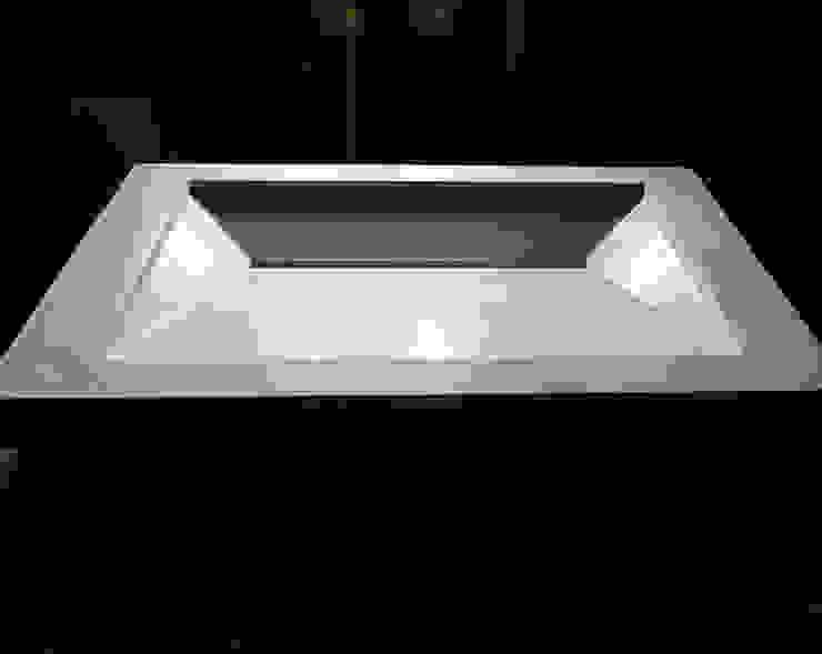 Symmetrical Concrete Ramp Sink : minimalist  by Forma Studios , Minimalist