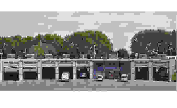 Nieuwbouw GVU werkplaats te Utrecht Industriële kantoorgebouwen van Ariens cs, Architecten & Ingenieurs Industrieel