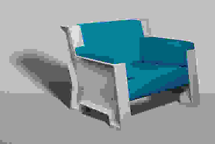 Concrete Sofa White van Reduxdesign