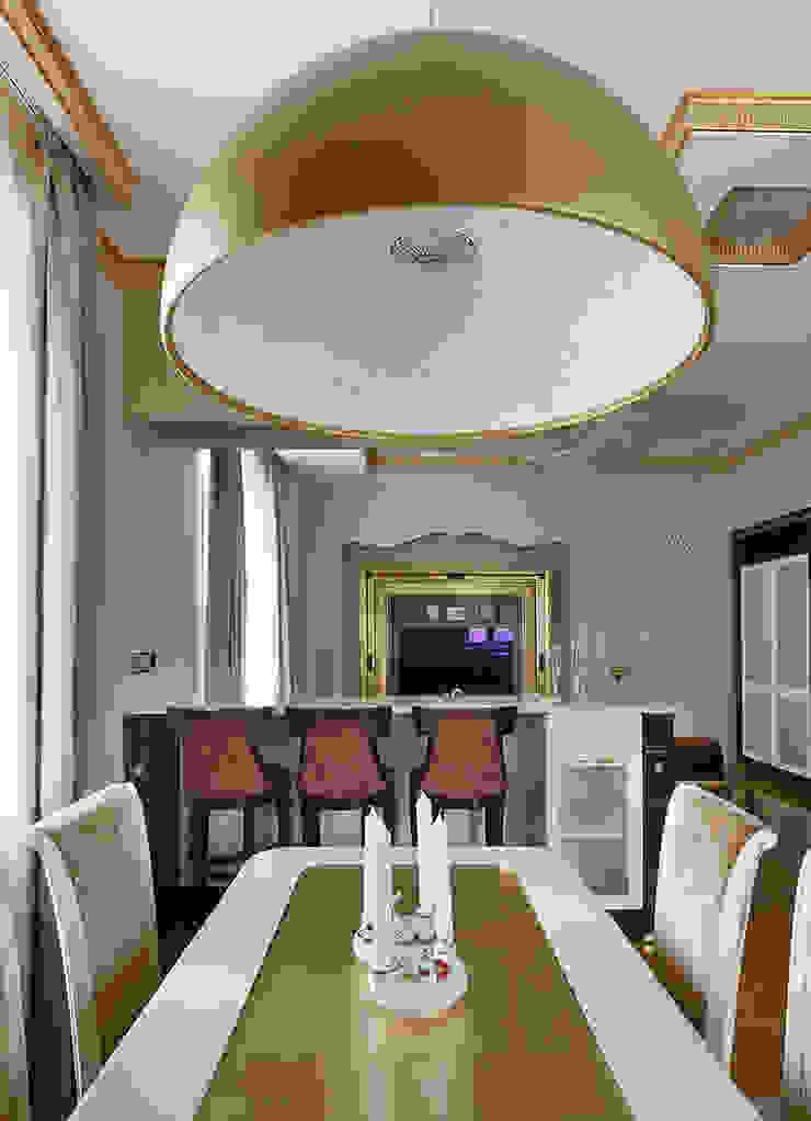 Кухня-столовая. Гостиные в эклектичном стиле от KRAUKLIT VALERII Эклектичный