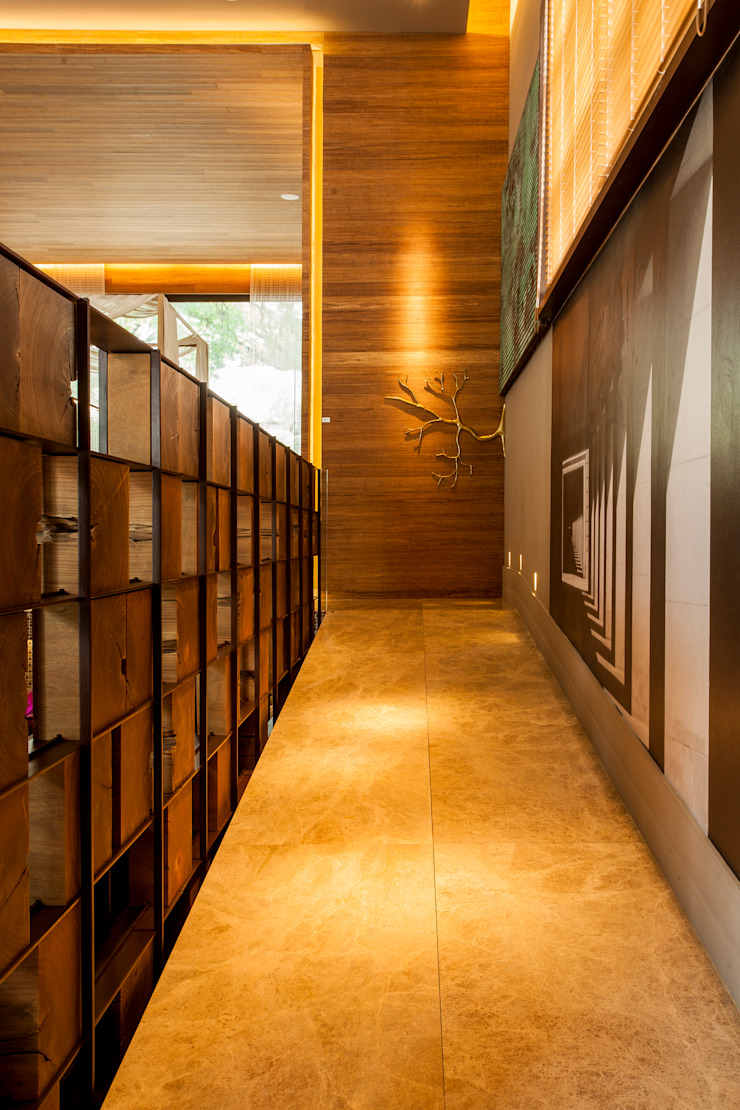 Modern Corridor, Hallway and Staircase by Denise Barretto Arquitetura Modern