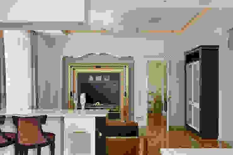Гостиная. Гостиные в эклектичном стиле от KRAUKLIT VALERII Эклектичный