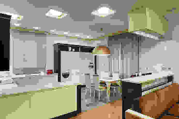 Кухня-столовая. Кухни в эклектичном стиле от KRAUKLIT VALERII Эклектичный