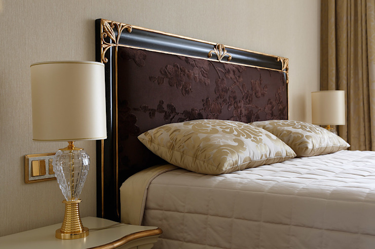 Спальня. Спальня в эклектичном стиле от KRAUKLIT VALERII Эклектичный