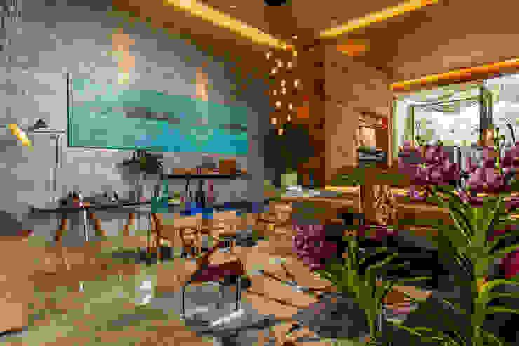 Modern living room by Denise Barretto Arquitetura Modern