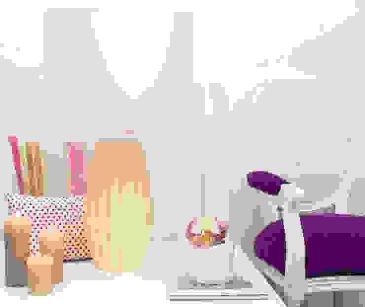 Pastel Nude Salas de estar modernas por ORCHIDS LOFT Moderno