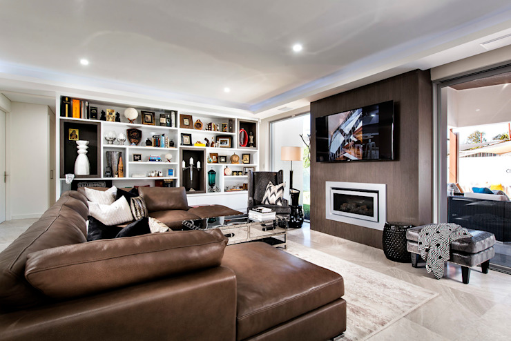 Living Rooms by Moda Interiors, Perth, Western Australia Salon original par Moda Interiors Éclectique