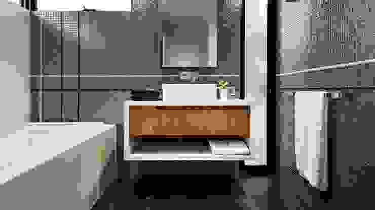 Bathrooms by Moda Interiors, Perth, Western Australia Modern bathroom by Moda Interiors Modern