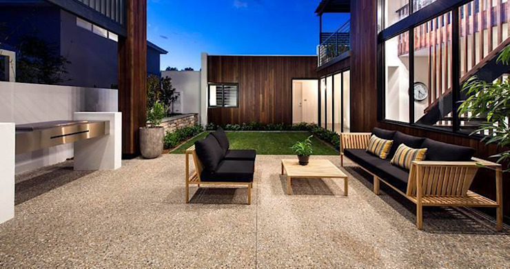 Alfresco, Outdoor Living, Patio, Deck by Moda Interiors, Perth, Western Australia Scandinavian style balcony, veranda & terrace by Moda Interiors Scandinavian