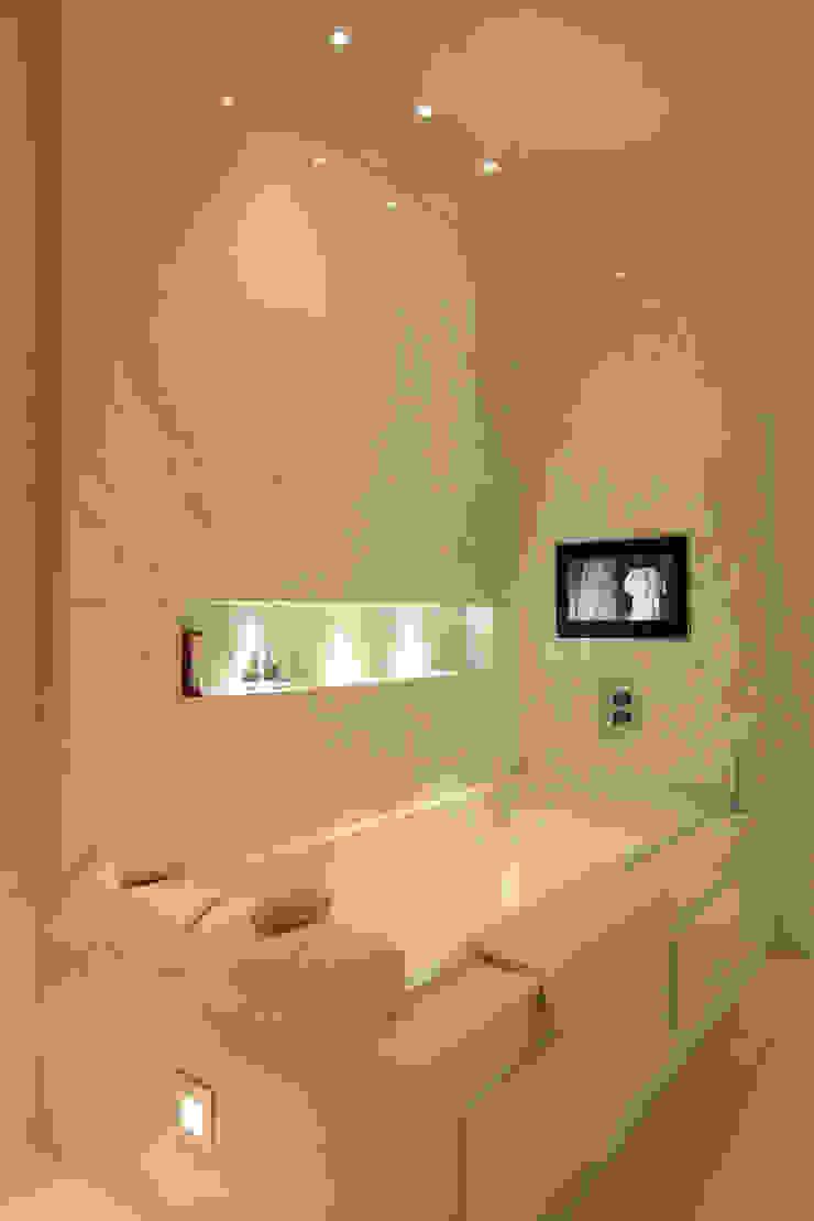 Contemporary home in England Modern bathroom by Sarah Ward Associates Modern
