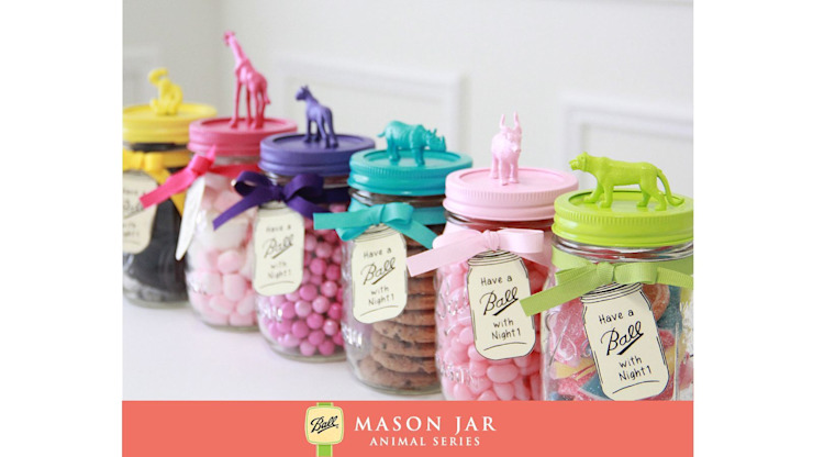 de Mason Jar Kitchen Rural