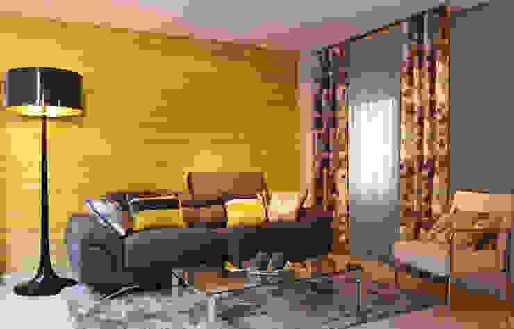 Salón con nuevas tendencias para primavera/verano de Villalba Interiorismo Moderno
