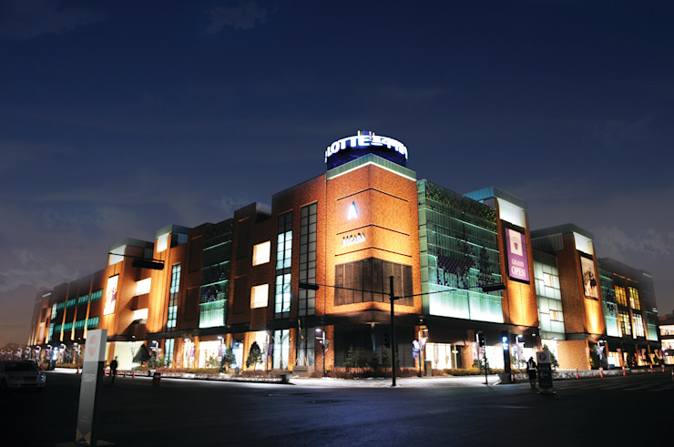 파주 LOTTE Premium Outlet_2011 클래식 스타일 쇼핑 센터 by Eon SLD 클래식