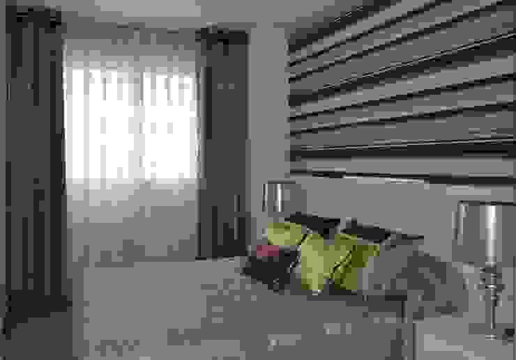 Dormitorio acogedor de Villalba Interiorismo Moderno