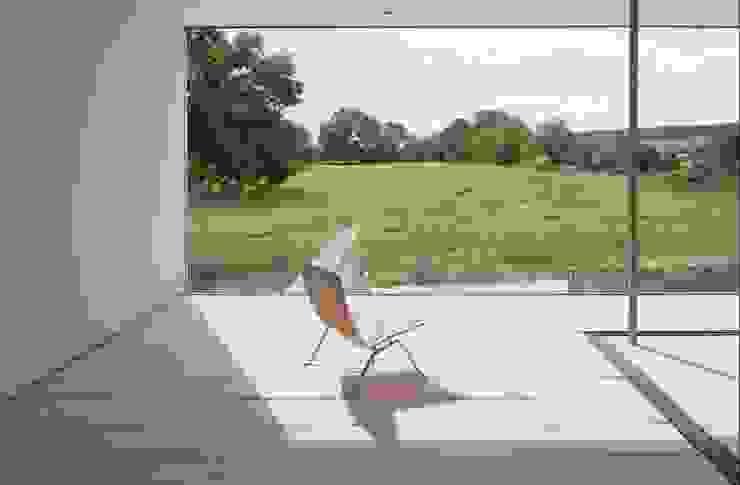 upper terrace by John Pardey Architects