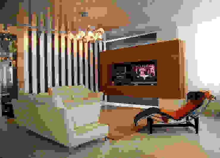 Интерьер квартиры в Черкассах Гостиная в стиле модерн от дизайн-студия Олеси Середы Модерн