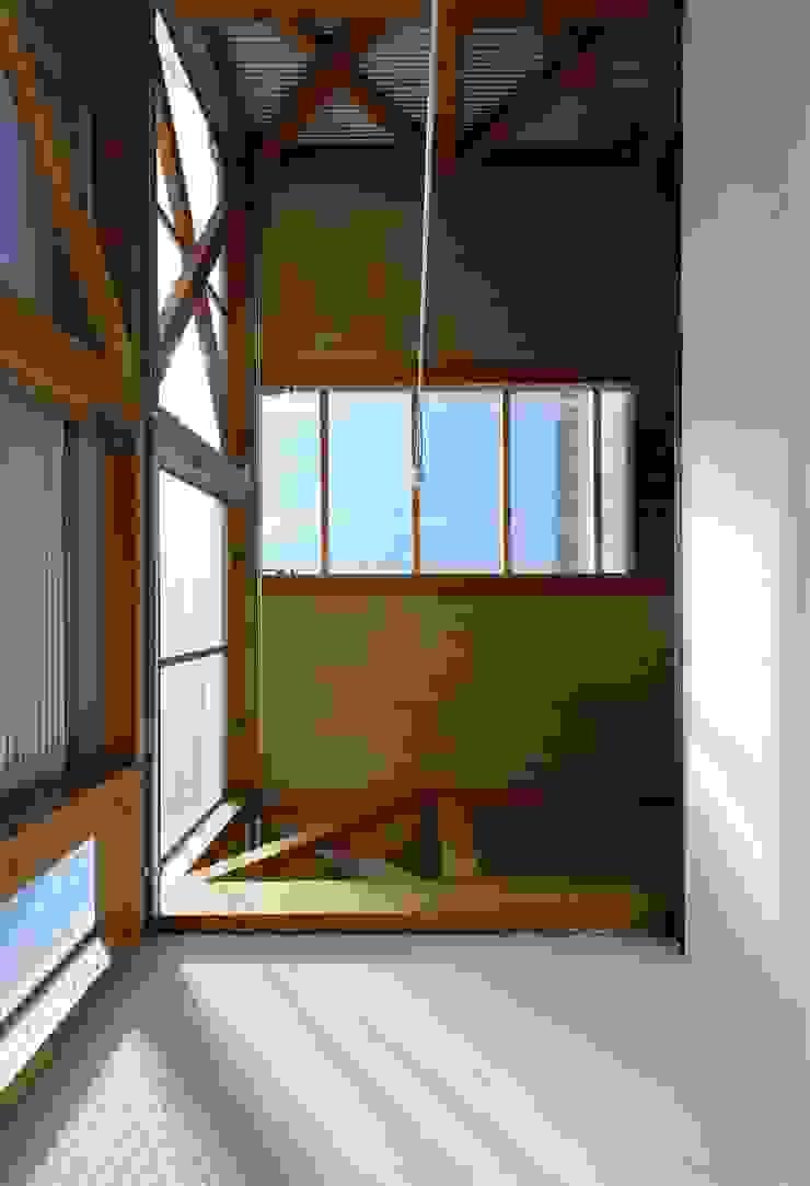 生野区 の長屋 - Row house of Ikunoku オリジナルな 窓&ドア の 林泰介建築研究所 オリジナル