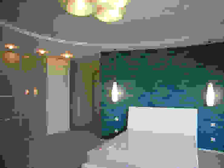 Интерьер квартиры в Черкассах Спальня в стиле модерн от дизайн-студия Олеси Середы Модерн