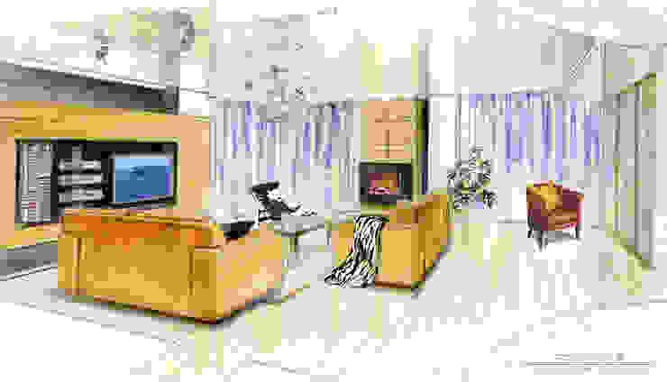 Интерьер квартиры в Черкассах от дизайн-студия Олеси Середы