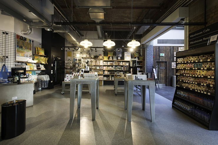 MOSI Museum Shop Industrial style offices & stores by rich Industrial