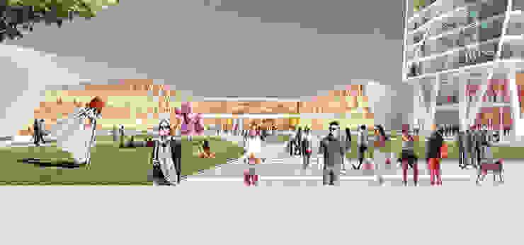 Shopping Center Novoriga Centros comerciales de estilo moderno de TBI Architecture & Engineering Moderno