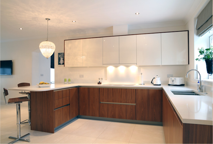 Contemporary kitchen Minimalist Mutfak John Ladbury and Company Minimalist