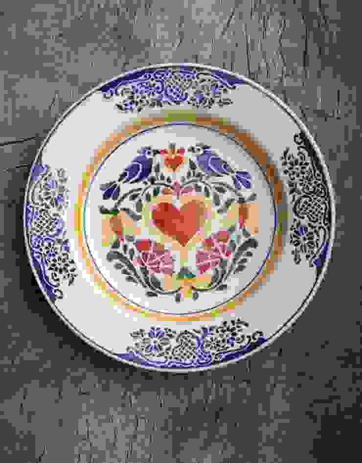 Serveerschaal Amor 35cm van Burra Burra Rustiek & Brocante
