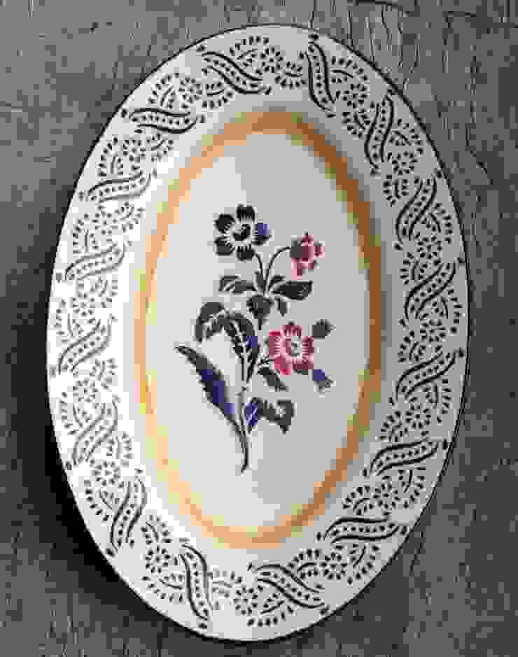 ovalen serveerschaal van Burra Burra Landelijk