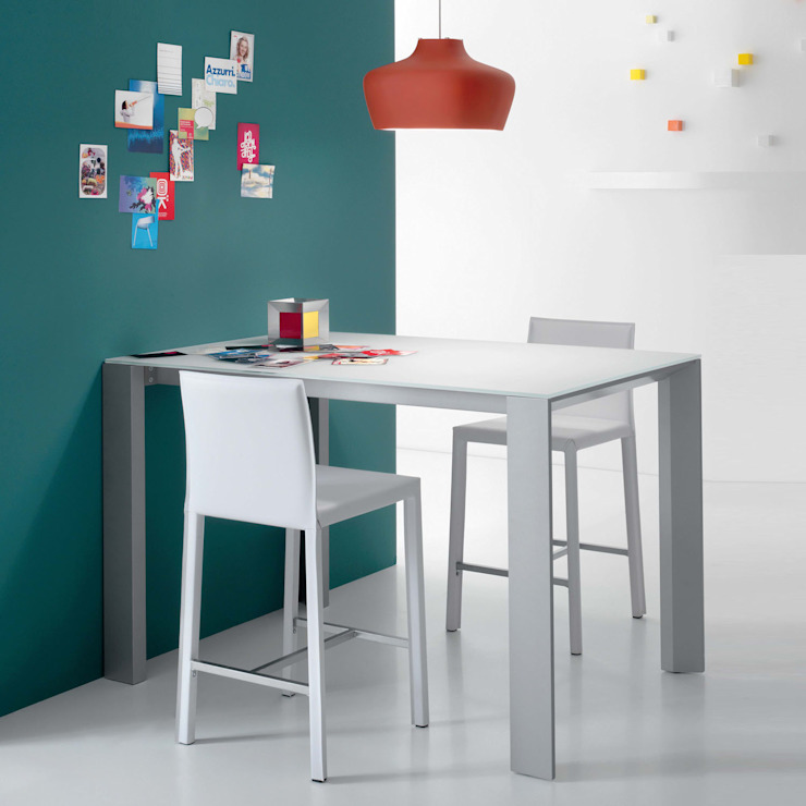 'Snack' Contemporary extendible bar/breakfast table by Compar por My Italian Living Moderno