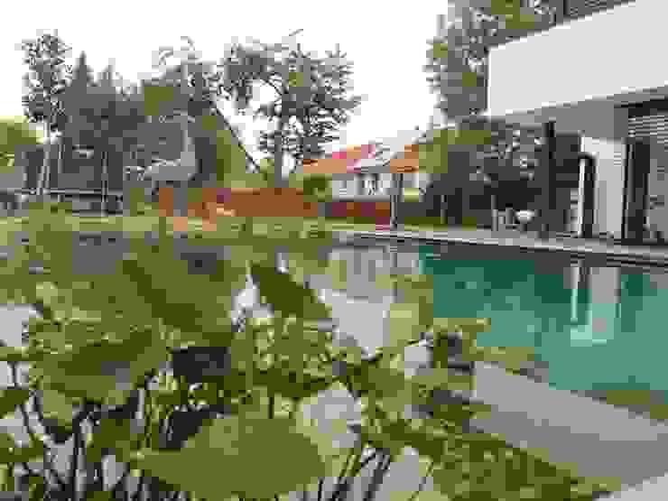 Nagelschmitz Garten- und Landschaftsgestaltung GmbH Nowoczesny ogród