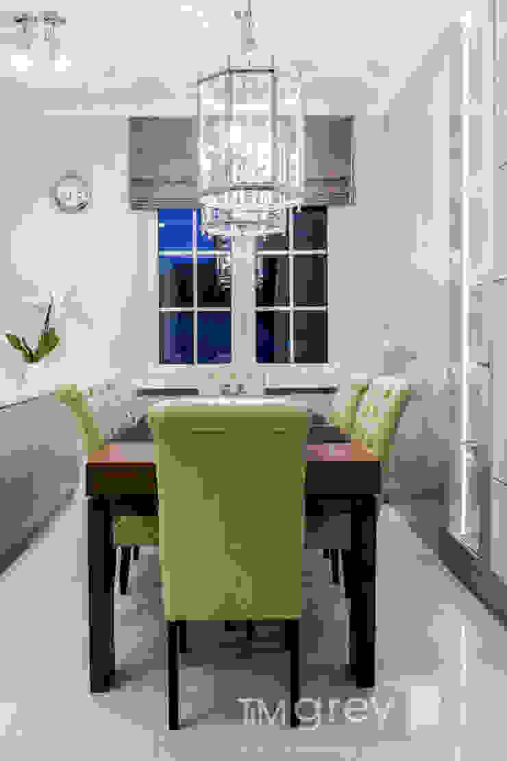 Classic Design – 230m2 Klasyczna jadalnia od TiM Grey Interior Design Klasyczny