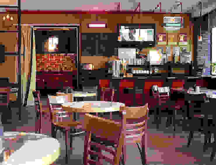 Бар-ресторан <q>Куклы-пистолеты</q> Бары и клубы в стиле лофт от Space for life Лофт