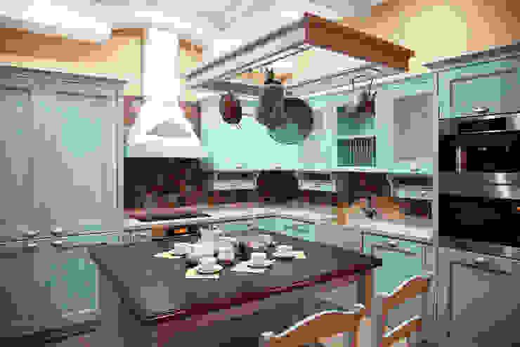 Мария Остроумова Cocinas de estilo rural