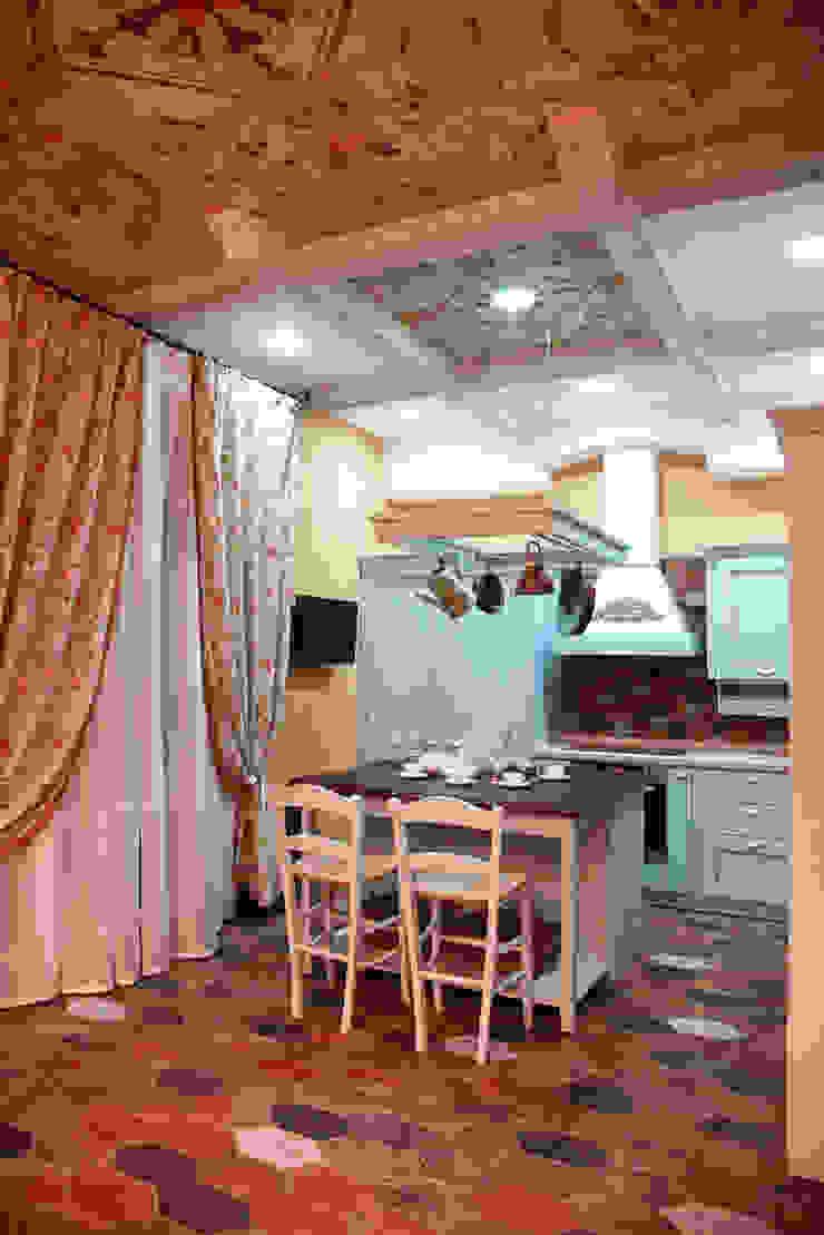 Кухня-столовая. Кухня в стиле кантри от Мария Остроумова Кантри