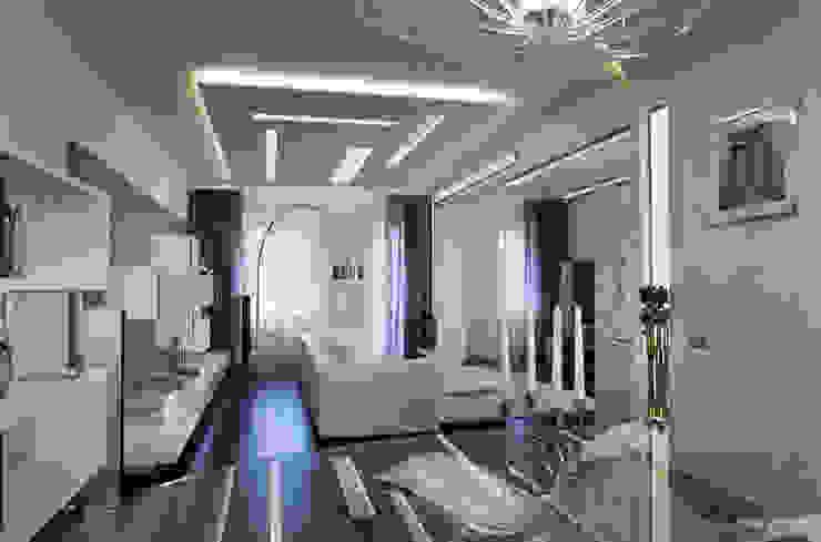 Гостиная Гостиная в стиле минимализм от Studio Design-rise Минимализм