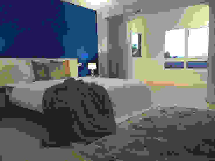 地中海スタイルの 寝室 の INSIDE tp 地中海
