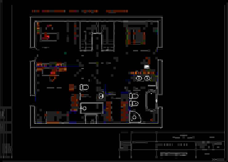 План расположения мебели, приборов и оборудования 3 этаж. от Мария Остроумова